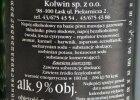 Napoje na bazie piwa imituj�ce rosyjskie wina. B�dzie kontrola