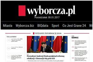 """100 tys. prenumerat cyfrowych Wyborcza.pl. """"To powód do dumy i wdzięczności wobec czytelników"""""""