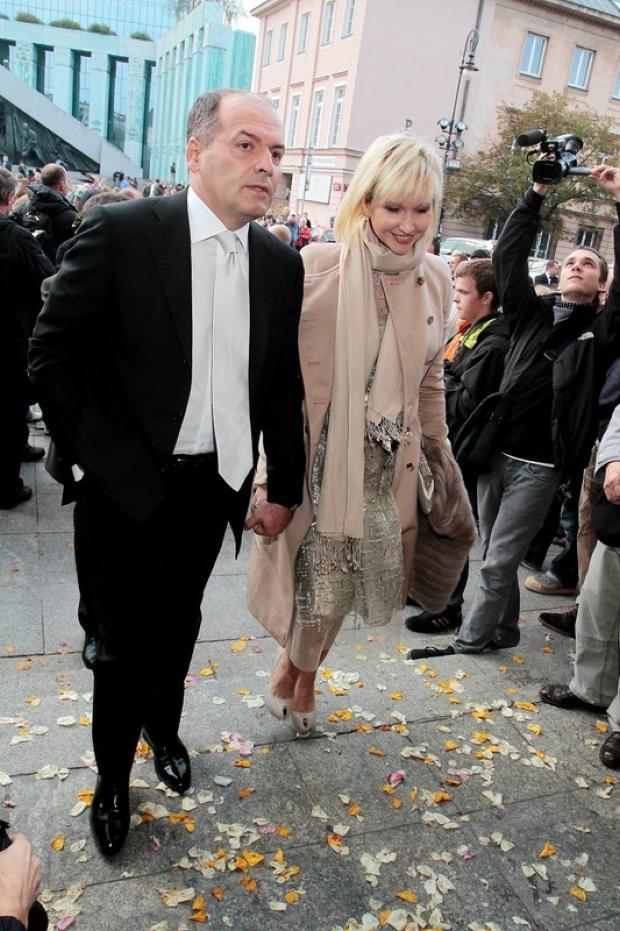 22.09.2012 Warszawa   Slub Aleksandry Kwasniewskiej i Kuby Badacha   N/z   fot. Adam Jankowski/REPORTER