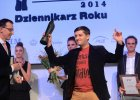 """Nagrody Grand Press 2014. """"Wyborcza"""" gazet� 25-lecia, Andrusieczko dziennikarzem roku"""