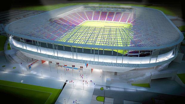 Tak będzie wyglądał nowy stadion Pogoni Szczecin. Powstanie w 2020 albo 2021 roku