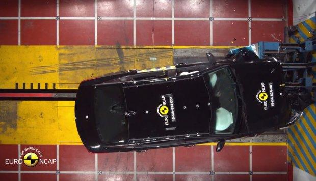 Kia Optima testy Euro NCAP