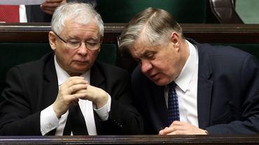 Jarosław Kaczyński i Krzysztof Jurgiel