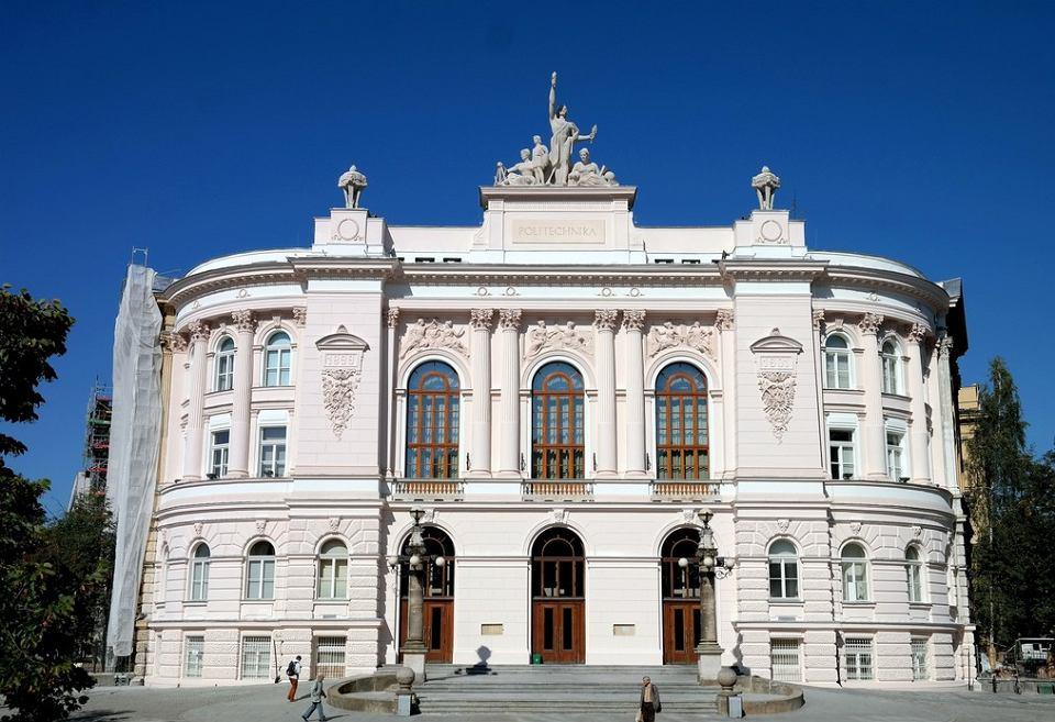 Politechnika Warszawska. Gmach główny
