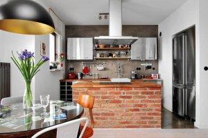 Murowane szafki - spos�b na niepowtarzaln� kuchni�