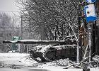 Donieck. Czołg prorosyjskich separatystów