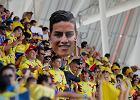 MŚ 2018. Kolumbijski kibic stracił pracę. Na mecz z Japonią wniósł alkohol w lornetce