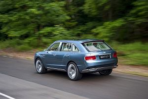 "SUV Bentleya ""na �ywo"" | Wideo"