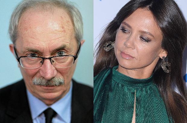Zdjęcie numer 1 w galerii - Ojciec Małgorzaty Rozenek publicznie broni córki i atakuje Kingę Rusin.