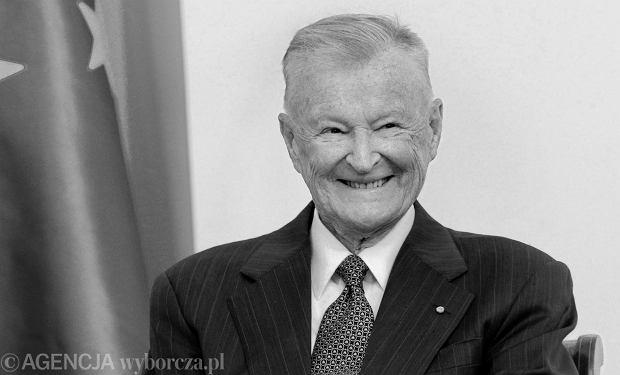 Zbigniew Brzeziński nie żyje. Miał 89 lat