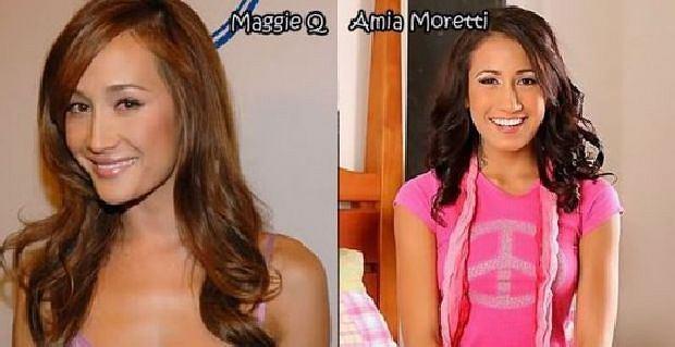 Maggie Q, Ammia Moretty