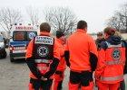 Wyjazd ratownik�w na Ukrain�