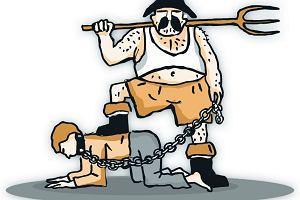 Polski niewolnik z targowiska
