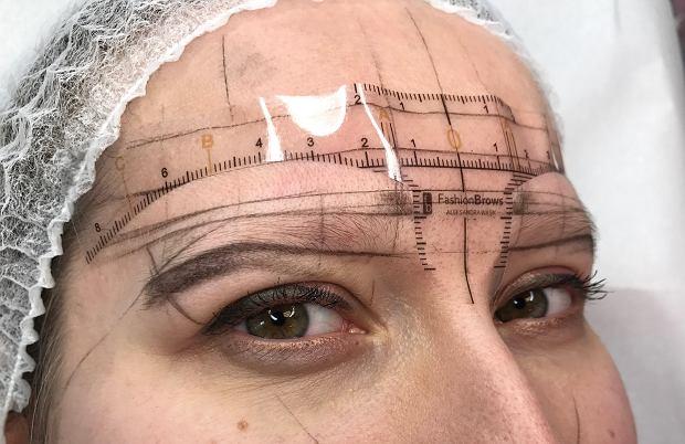 Przygotowanie do microbladingu