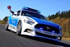 Tuning | Ford Mustang | Radiowóz dla niemieckiej policji