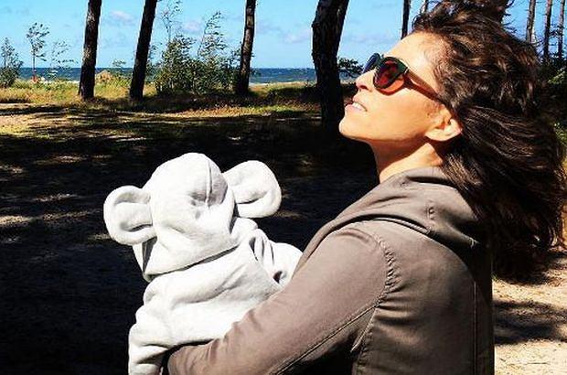 Natalia Kukulska pokazała pierwsze zdjęcie twarzy swojej córki za pomocą Instagrama. Zrobiła to używając okularów!