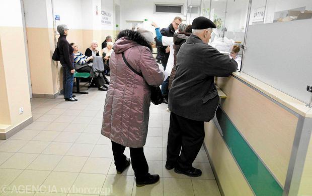 Kolejka do lekarza internisty w Kielcach