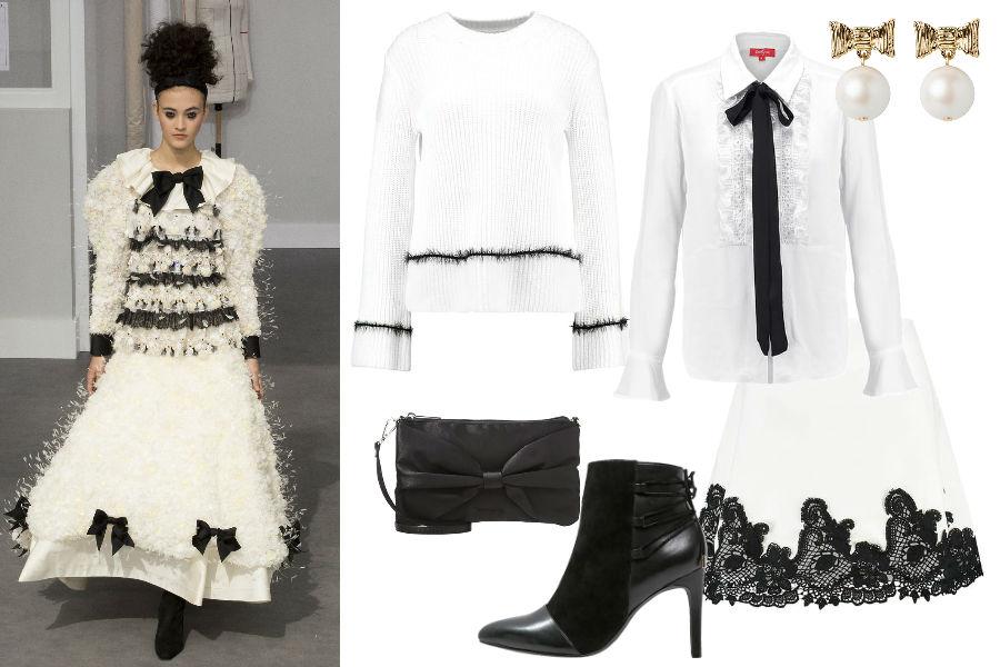 zdj. Chanel haute couture 2016, ImaxTree / mat. part. / kolaż Avanti24