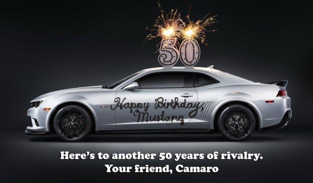Happy Birthday Mustang życzenia Od