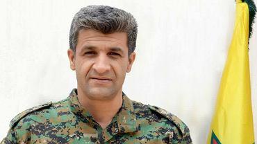 Nuri Mahmud, rzecznik kurdyjskich Powszechnych Jednostek Obrony (YPG)