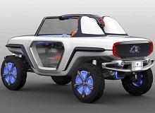 Kosmiczna terenówka od Suzuki. Wejdzie do produkcji?