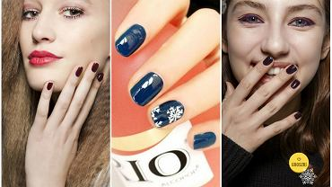 Manicure paznokcie na święta