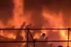 Po�ar w parku rozrywki na Tajwanie. 516 os�b rannych, w tym prawie 200 ci�ko