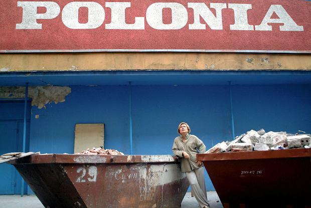 Krystyna Janda podczas budowy Teatru Polonia