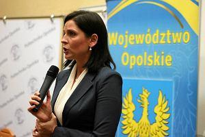 Minister sportu Joanna Mucha z wizyt� w Opolu [ZDJ�CIA, WIDEO]