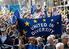 """""""Wszystkiego najlepszego, Unio Europejska"""". Tysiące ludzi na ulicach Londynu w marszu przeciw Brexitowi"""