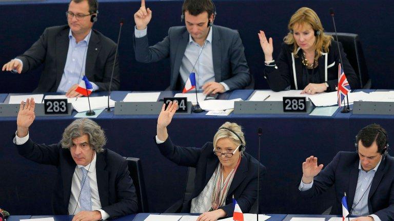 Francuscy politycy w Europarlamencie