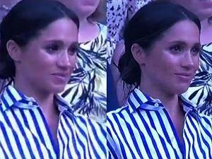 Meghan Markle popłakała się podczas Wimbledonu
