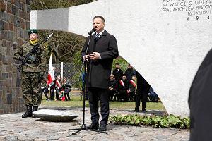 Prezydent Duda na rocznicy forsowania Odry: Nie wolno dzielić tych, którzy polegli za ojczyznę [ZDJĘCIA]