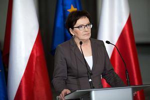 Ewa Kopacz do prezydenta Dudy w sprawie referendum: Oczekuj� rozszerzenia listy pyta�. Polska nie jest pa�stwem jednej partii