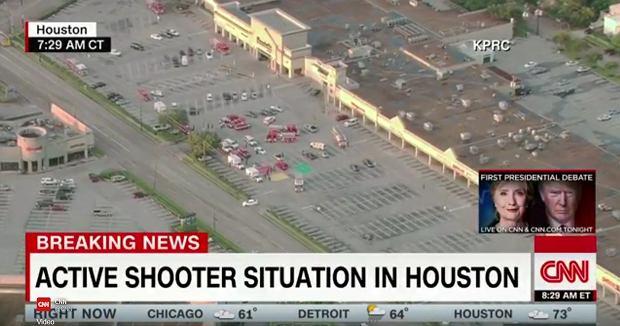 Strzelanina w centrum handlowym w Houston. S� ranni