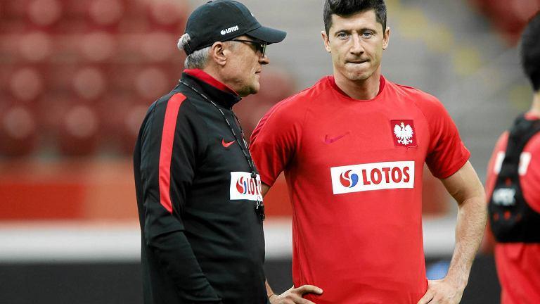 Piątkowy trening polskiej reprezentacji