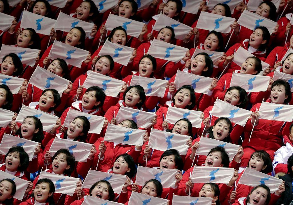 Zespół południowokoreańskich cheerleaderek