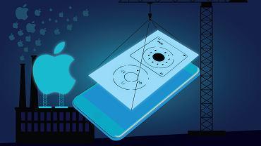 Jednym z pierwszych pomysłów na interfejs iPhone'a było kółeczko znane z iPoda. Na szczęście Apple porzucił tę koncepcję