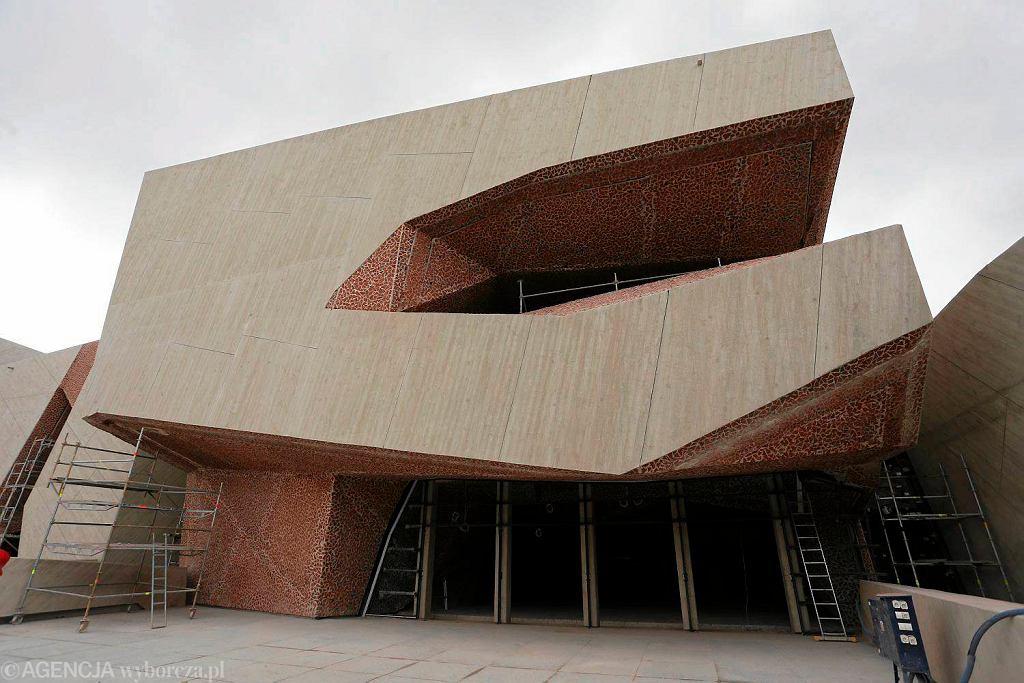 Budowa sali koncertowej na toruńskich Jordankach