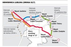 Nareszcie! W pi�tek po po�udniu otworz� obwodnic� Lublina