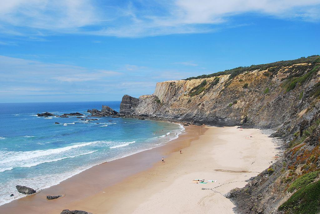 Praia da Amalia w Portugalii
