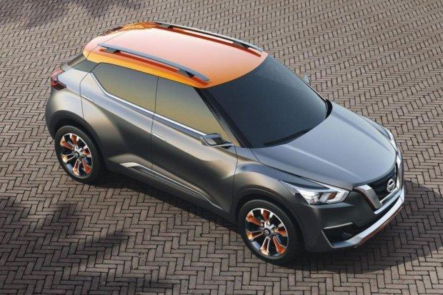 Nissan Kicks Concept | Mniejszy od Qashqaia