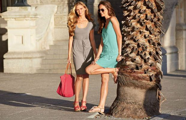 ce16de1d524f39 Damska kolekcja Lidla na lato - zwiewne sukienki, kolorowe bluzki i ...
