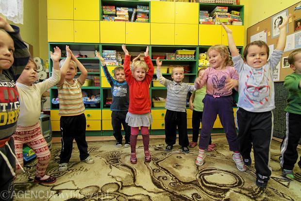 Dzieci z przedszkola miejskiego nr 2 w Toruniu