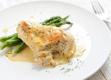Filet z kurczaka w sosie musztardowym - ugotuj