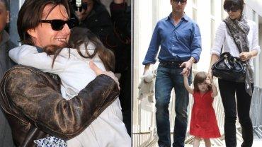 Tom Cruise, Suri Cruise i Katie Holmes