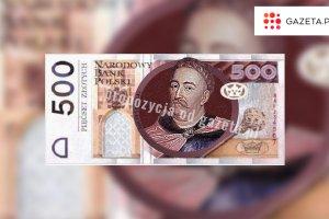 B�dzie nowy banknot 500-z�otowy. NBP: Rozpoczynamy nad nim prace, wejdzie do obiegu w 2017 roku