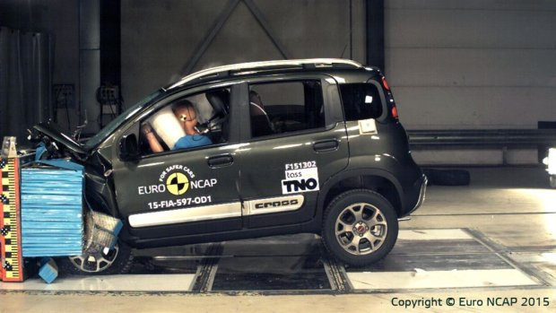 Fiat Panda Cross Testy Euro NCAP