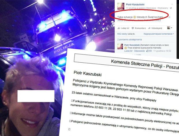 Piotr Kaszubski poszukiwany przez specjaln� grup� po�cigow�