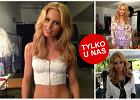 """Pi�kna Amanda Streich, modelka i Playmate """"Playboya"""", za kulisami sesji dla Guess by Marciano [ZDJ�CIA]"""